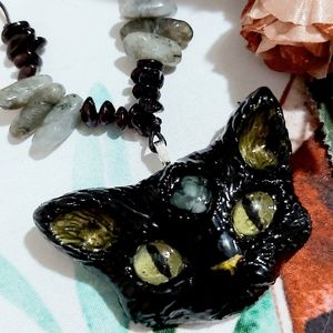 The Mystical Cats Collection - Green Aventurine &